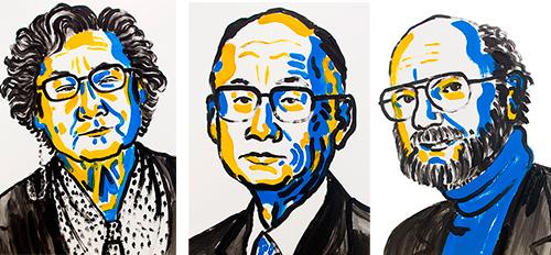 A chinesa Youyou Tu, o japonês Satoshi Omura e o norte-americano William C. Campbell e foram agraciados com o Prêmio Nobel em Fisiologia ou Medicina de 2015 por suas contribuições ao tratamento de doenças negligenciadas (ilustr.: Nobel Prize)