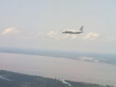Aviões sobrevoam a Amazônia por quase 200 horas para medir impacto da poluição