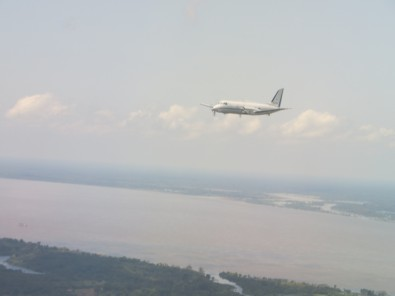 To measure the impact of pollution, aircraft will fly 200 hours over the Amazon