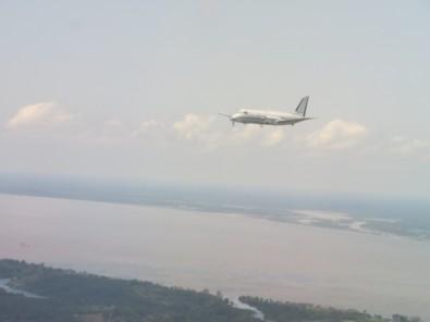 Aviones sobrevuelan la Amazonia para medir el impacto de la polución