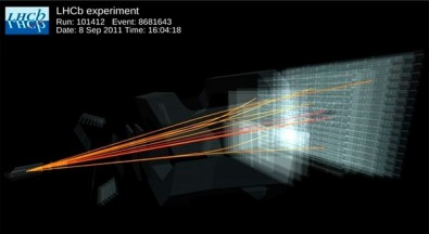 Científicos del LHC observan por primera vez un raro proceso subatómico
