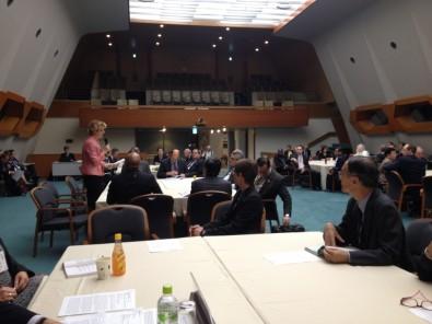 Brazilian researchers participate in a scientific forum in Kyoto