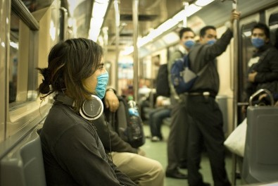 Respirator mask reduces effects of pollution on the heart