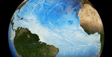 El calentamiento podrá reducir un 44% la gran circulación de las aguas del Atlántico