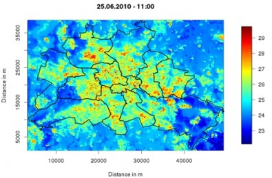 Superfícies refletoras e árvores podem reduzir a temperatura das cidades
