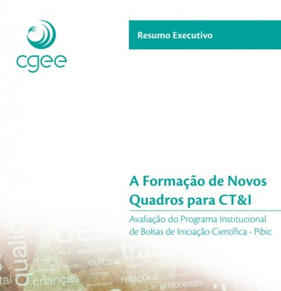 CGEE conclui estudo sobre Programa de Iniciação Científica do CNPq