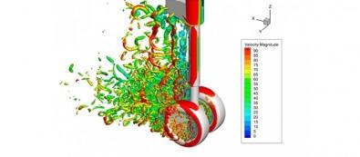 Researchers analyze aircraft landing gear noise