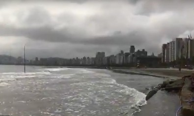Sea levels along the Brazilian coast are expected to rise in coming decades