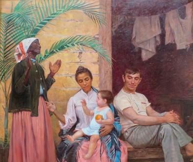 Exemplo de racismo na pintura brasileira