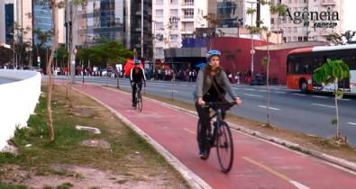 Construção de ciclovias em São Paulo incentiva uso de bicicletas