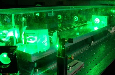 Experiment obtains entanglement of six light waves with a single laser