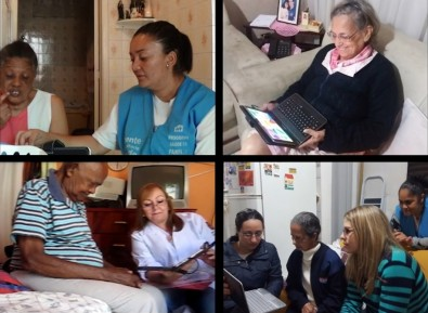 Una aplicación que ayuda en el tratamiento de ancianos con depresión