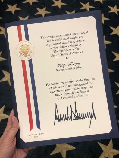 Lider de projeto SPEC-FAPESP ganha prestigioso Presidential Early Career Award dos EUA