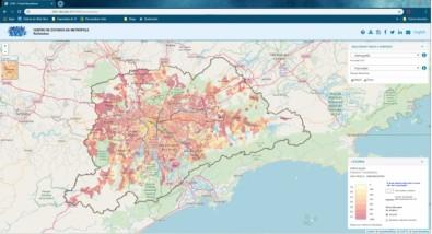 Plataforma ReSolution reúne indicadores inéditos da Região Metropolitana de São Paulo