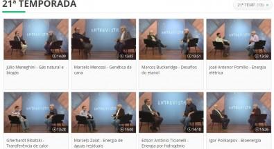 """Nova temporada do programa """"Entrevista"""" discute sustentabilidade e geração de energia"""