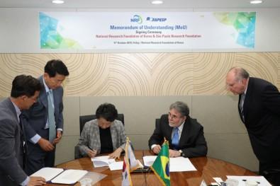 FAPESP assina acordo de cooperação com a National Research Foundation of Korea