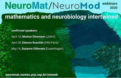 Centro de pesquisa em Neuromatemática realiza seis seminários on-line sobre matemática e neurobiologia