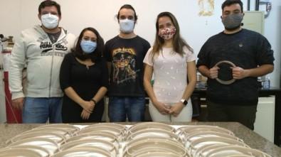 Centro financiado pela FAPESP produz protetores faciais com propriedades microbicidas