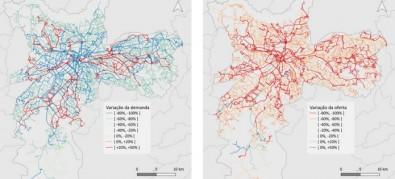 Mudança na oferta de transporte coletivo na periferia de grandes cidades aumentou o risco de contágio