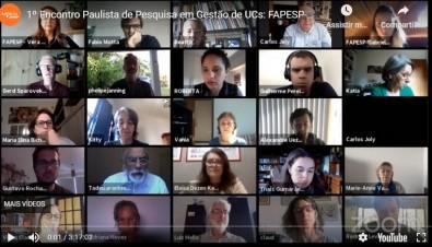 Webinar discute pesquisa e gestão em unidades de conservação paulistas