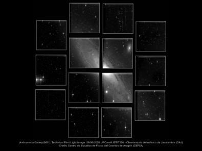 Segunda maior câmera para observação astronômica no mundo registra primeiras imagens