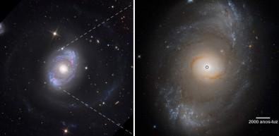 Proponen un mecanismo universal de eyección de la materia desde los agujeros negros