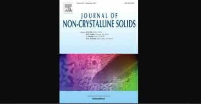 Três estudos da UFSCar estão entre os mais baixados de 2020 no Journal of Non-Crystalline Solids