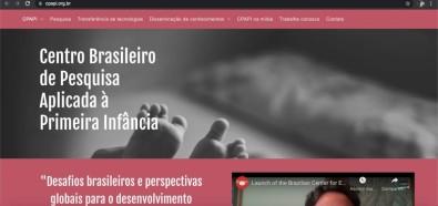 Centro de Pesquisa em Primeira Infância lança novo site e newsletter