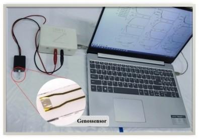Un biosensor permite efectuar una detección ultrarrápida y barata del SARS-CoV-2