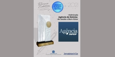 Agência FAPESP ganha Prêmio Einstein de agência de notícias mais admirada