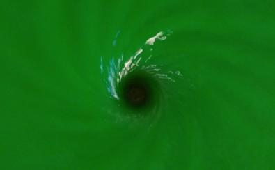 Cientistas simulam buraco negro em tanque de água