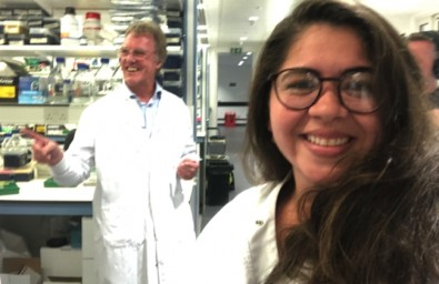 Bolsista da FAPESP realiza estágio com ganhador do Nobel de Medicina