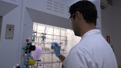 Mestrado em química computacional na UFABC com bolsa da FAPESP