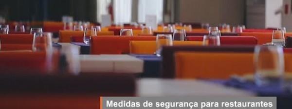 Medidas de segurança para restaurantes e consumidores durante a pandemia