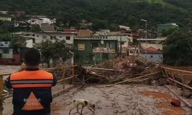 Chuvas que devastaram cidades mineiras em 2020 já são efeito das mudanças climáticas, diz estudo