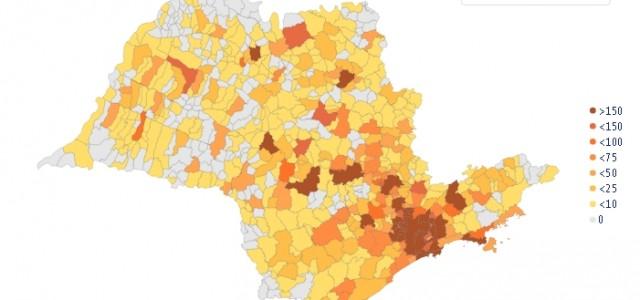 Estudo mostra a vantagem de quarentenas alternadas em cidades paulistas